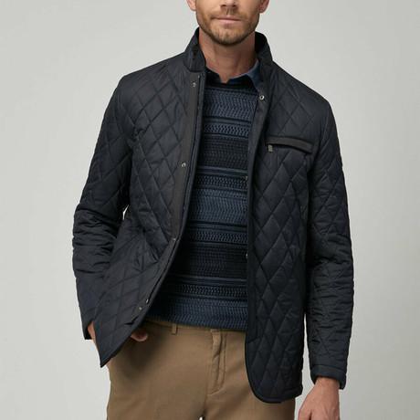Winston Overcoat // Navy Blue (Euro: 46)