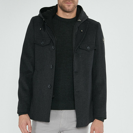 Billy Overcoat // Anthracite (Euro: 46)