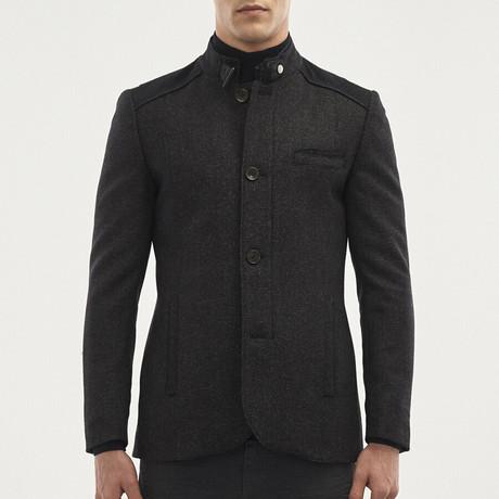 Schmitt Overcoat // Navy Blue (Euro: 46)