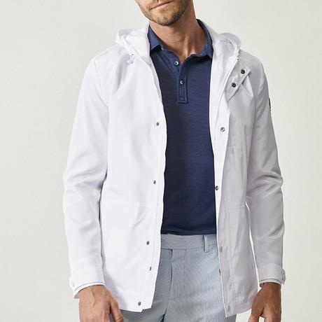 Chandler Overcoat // White (XS)