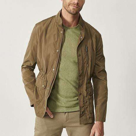 Ross Overcoat // Light Khaki (XS)