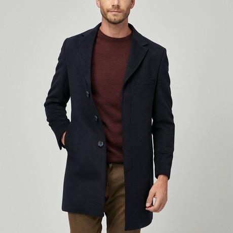 Milo Coat // Navy Blue (Euro: 46)