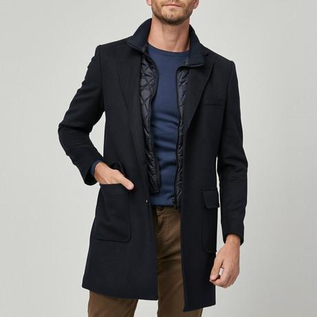 Maxwell Coat // Navy Blue (Euro: 46)