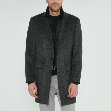 Marc Coat // Black Gray (Euro: 46)