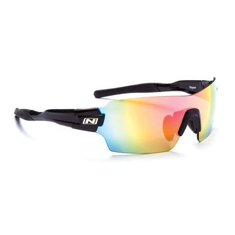 Vapor Sunglasses // Black // Interchangeable Lenses