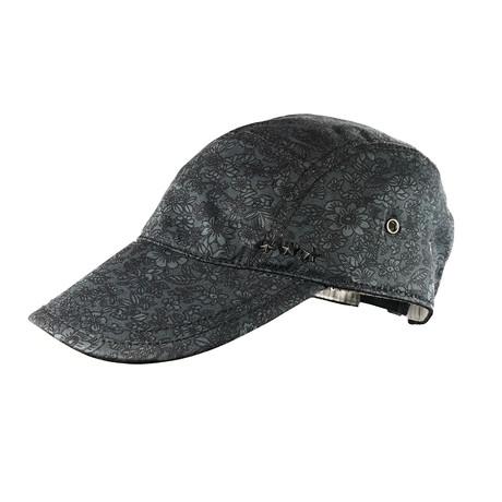 John Varvatos // Floral Baseball Hat // Blue (Size S/M)