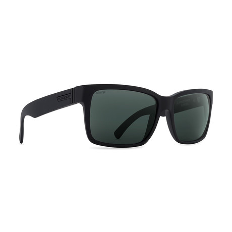 Unisex Elmore Polarized Sunglasses // Black + Gray