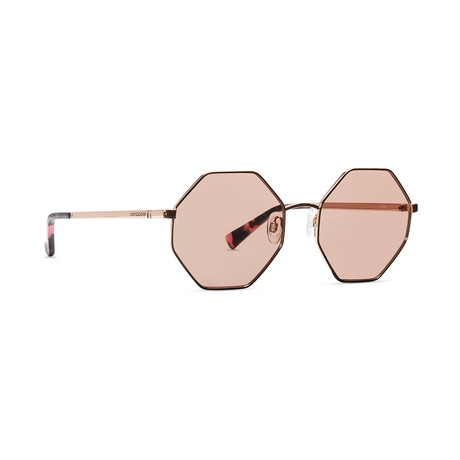 Women's Pearl Sunglasses // Rose Gold + Rose