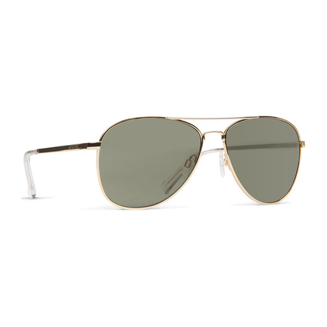 Unisex Farva Sunglasses // Gold + Gray