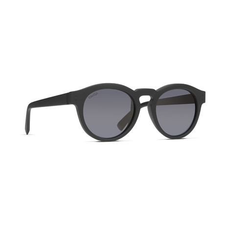 Unisex Ditty Polarized Sunglasses // Black + Gray