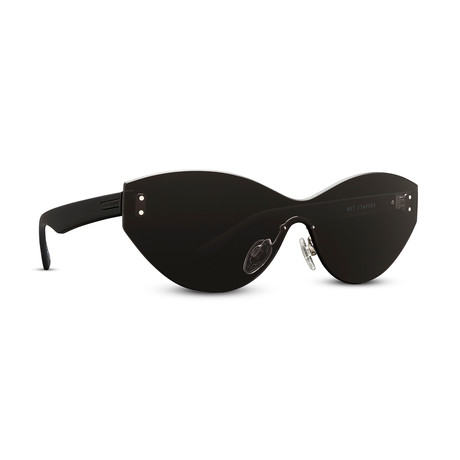 Unisex Alt Taffey Sunglasses // Black + Gray