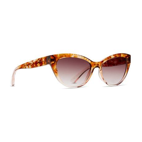 Women's Ya-Ya Sunglasses // Tort Brown + Bronze Gradient