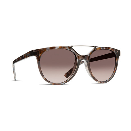 Unisex Hitsville Sunglasses // Tort Brown + Bronze Gradient