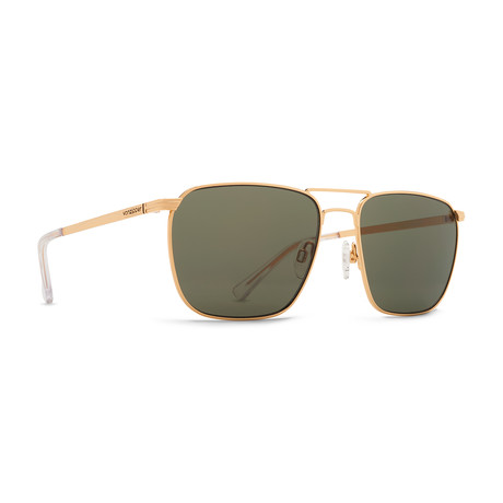 Unisex League Sunglasses // Gold + Gray