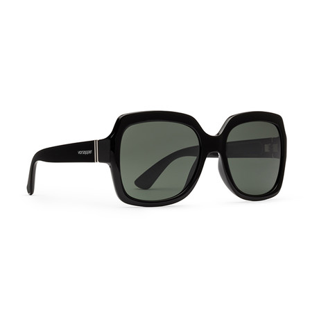 Women's Dolls Sunglasses // Black + Gray