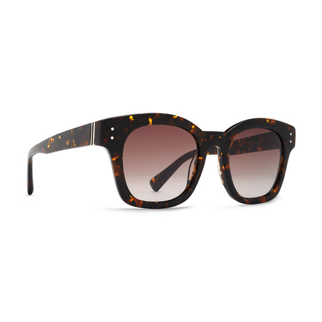 Unisex Belafonte Sunglasses // Tort Brown + Bronze Gradient