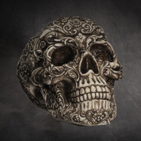 Floral Skull v.2
