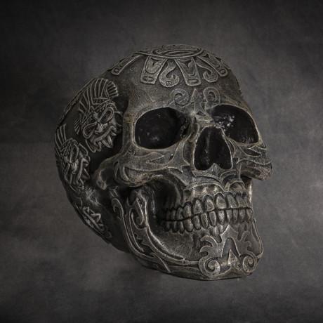 Aztec Skull v.2