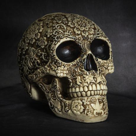 Floral Skull v.3