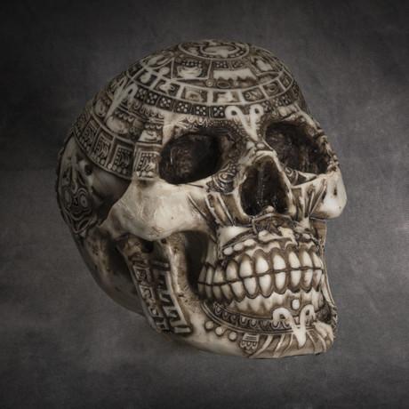 Aztec Skull v.1