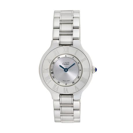 Must de Cartier Ladies Quartz // 1340 // Pre-Owned