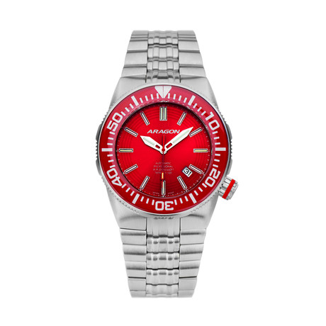 Aragon Hercules 16 Tubes Automatic // A378RED