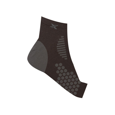 Targeted Compression Ankle Sleeve // 1-Pair // Black (S/M)