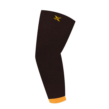 Elite Lightweight Elbow Compression Sleeves // 1-Pair // Orange (L/XL)