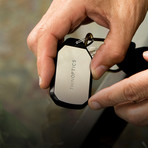 Silver Keychain // Purple Readers (1)