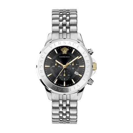 Versace Chronograph Signature Swiss Quartz // VEV600419