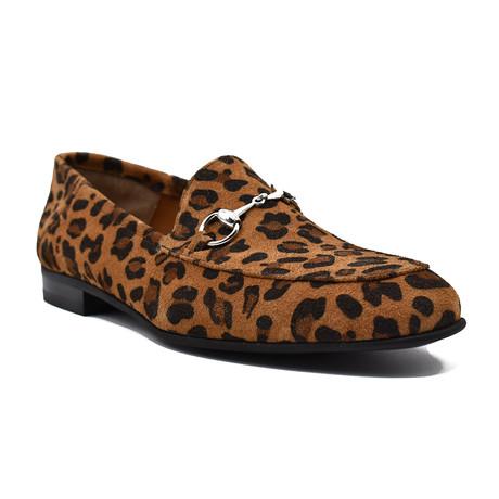 Cheetah Loafer // Brown (Euro: 39)