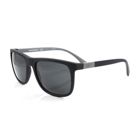 Emporio Armani // Men's EA4079 Sunglasses // Matte Black
