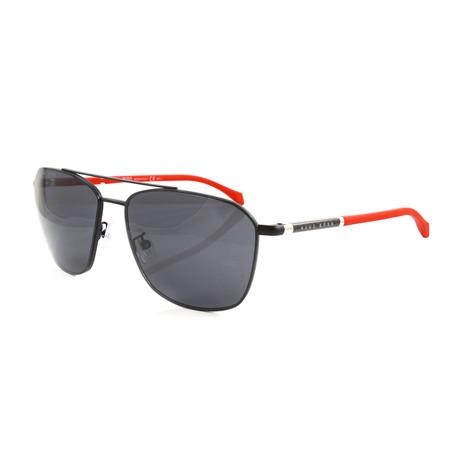 Hugo Boss // Men's 1103FS Sunglasses // Matte Black