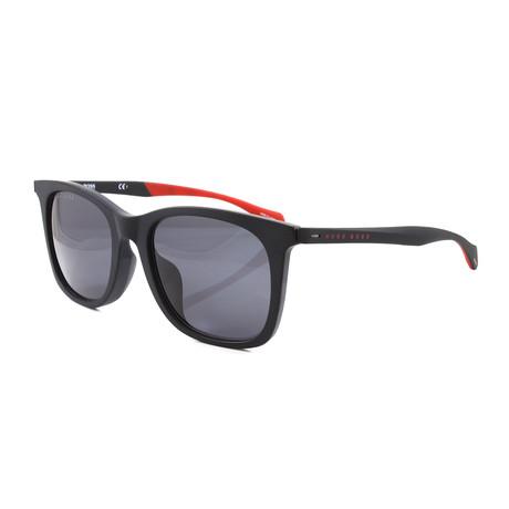 Hugo Boss // Men's 1100FS Sunglasses // Matte Black