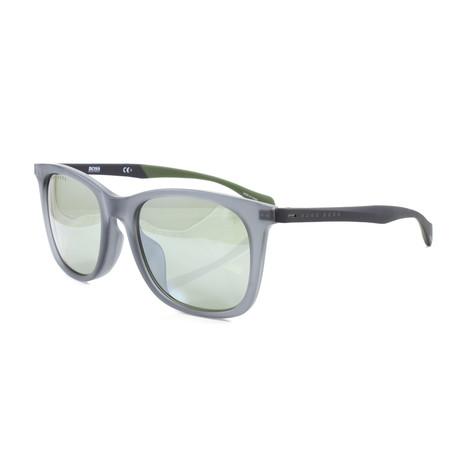 Hugo Boss // Men's 1100FS Sunglasses // Matte Blue