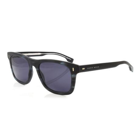 Hugo Boss // Men's 925S Sunglasses // Blue + Horn