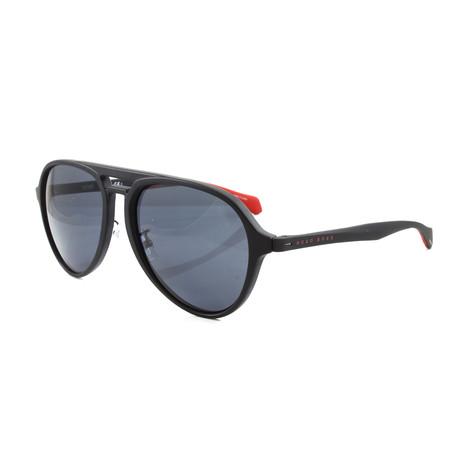 Hugo Boss // Men's 1099FS Sunglasses // Matte Black