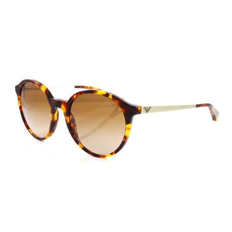 Emporio Armani // Women's EA4134 Sunglasses // Havana Brown + Orange