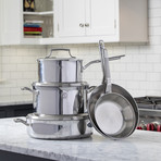 Triply 8 Piece Cookware Set