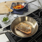 Triply 2 Piece Open Frypan Set