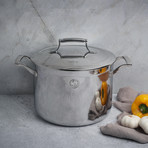 8 Quart Triply Stockpot + Stainless Steel Lid
