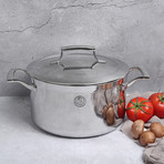 6 Quart Triply Stockpot + Stainless Steel Lid