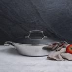 """12"""" Triply Everyday Pan + Stainless Steel Lid"""