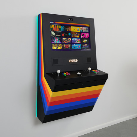 Polycade Home Free-To-Play // Black Vinyl Wrap