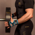 PRO Silicone Gloves // Blue (Medium)