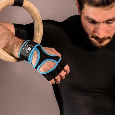 PRO Silicone Gloves // Blue (X-Small)