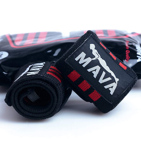 "Wrist Wraps // 14""// Pack of 2 (Red)"