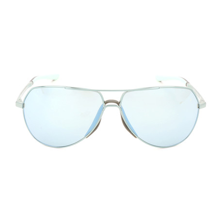 Unisex Outrider EV1085 Sunglasses // Igloo Blue + Blue Mirror