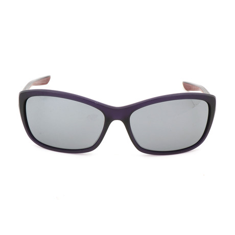 Women's EV0996 Sunglasses // Purple + Gray Silver