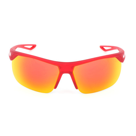 Kid's Trainer EV1064 Sunglasses // Red + Gray